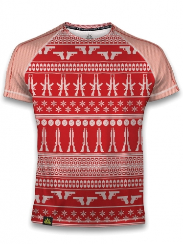 koszulka_men_sport_christmas_red