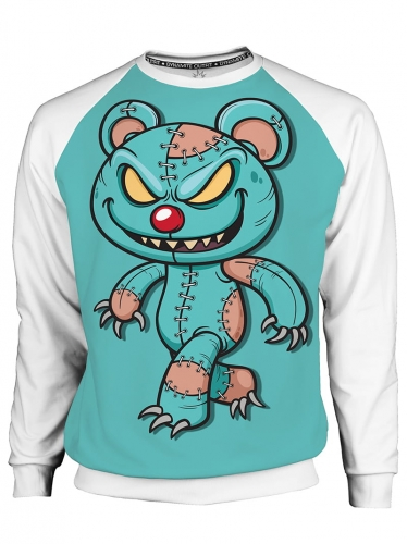 Bluza męska Crazy Teddy Bear