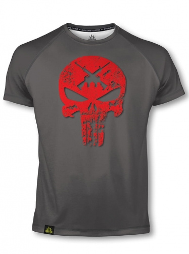 Koszulka sportowa T-shirt  Punisher AR15 red